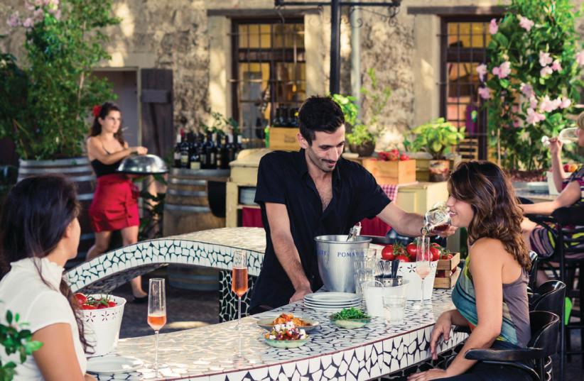Vicky Cristina evokes the tastes and atmosphere of Spain (photo credit: DAN PERETZ)