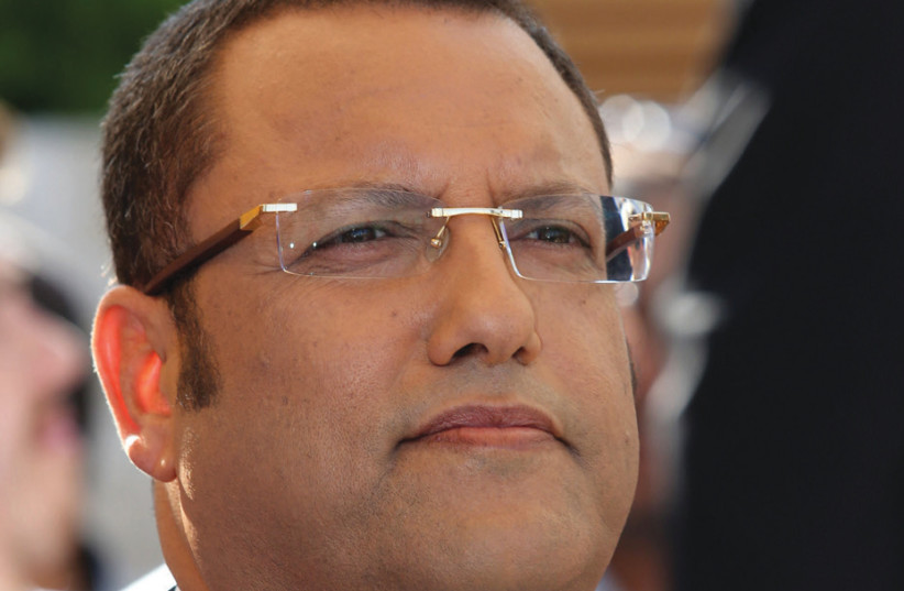 The Haredi leadership is still officially obliged to Moshe Lion... but only if Mayor Nir Barkat doesn't run for a third term (photo credit: MARC ISRAEL SELLEM)