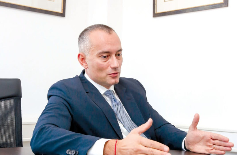 Nickolay Mladenov: We are very much at the early stages of this [reconciliation] process, and there are too many things that can go wrong, and most of them probably will (photo credit: MARC ISRAEL SELLEM/THE JERUSALEM POST)