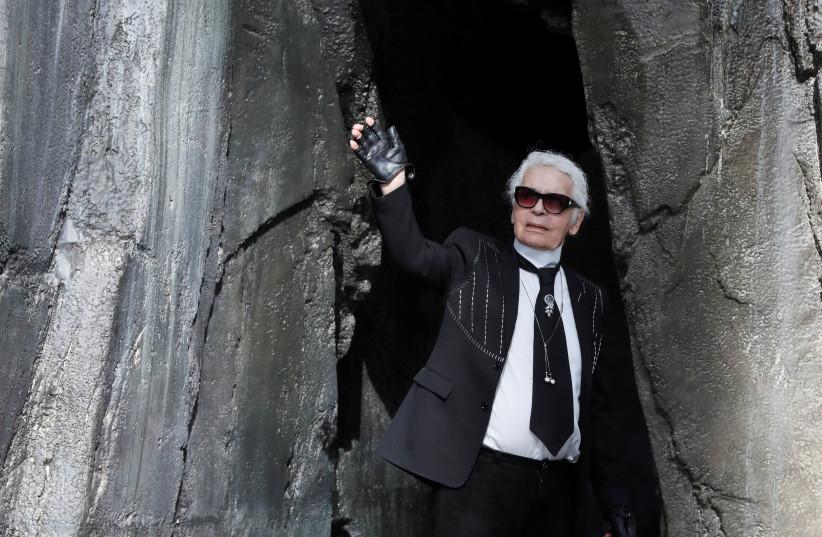 Fashion designer Karl Lagerfeld.  (photo credit: GONZALO FUENTES / REUTERS)