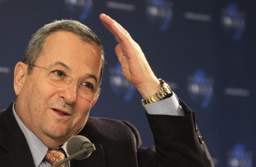 Former prime minister of Israel Ehud Barak (photo credit: REUTERS/HERWIG PRAMMER)