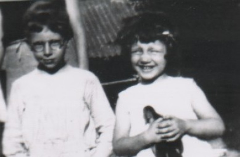 Jean and Annette Schimianski, deported from Mantes-la-Joly to Auschwitz  (photo credit: COURTESY OF ROGER COLOMBIER)