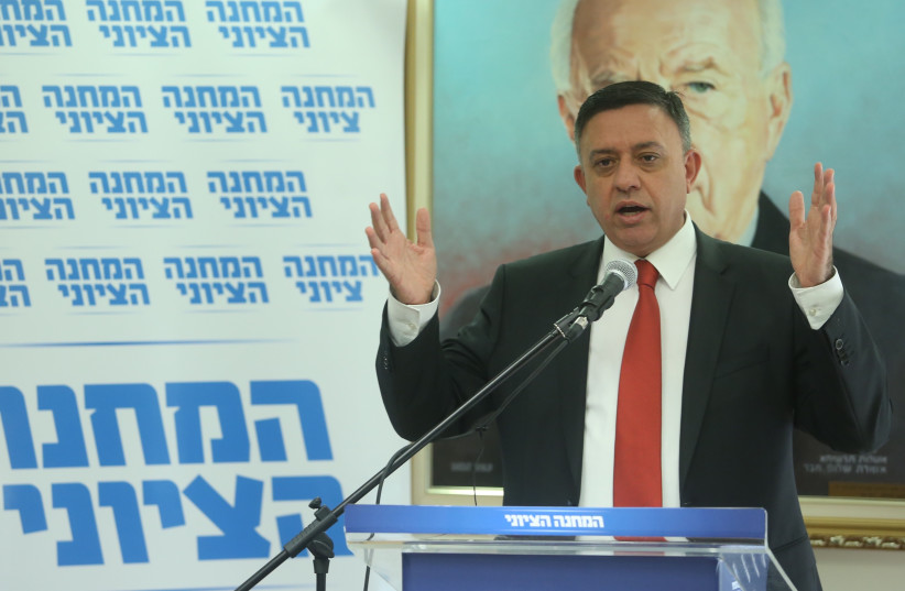 Labor leader Avi Gabbay speaks at a faction meeting (photo credit: MARC ISRAEL SELLEM/THE JERUSALEM POST)