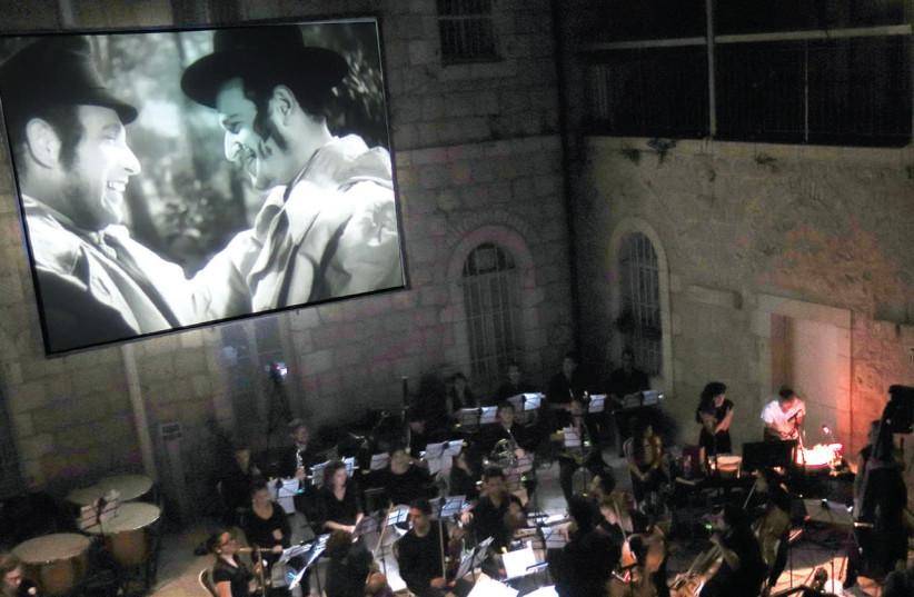 Adi Kaplan and Shachar Carmel's reworking of the iconic 1937 Polish film 'The Dybbuk' taking place in Jerusalem (photo credit: AMIR BOLZMAN)