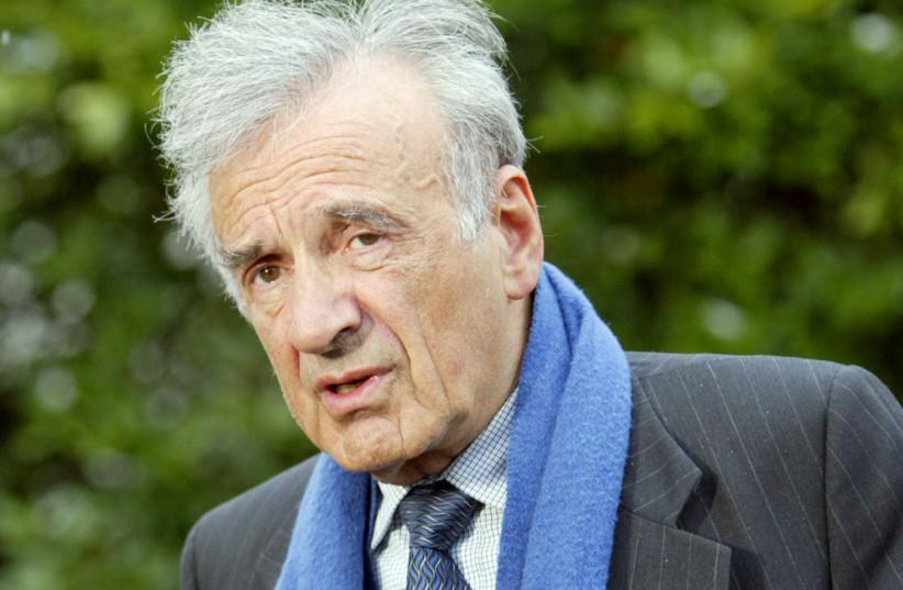Nobel Peace Prize winner and Holocaust survivor Elie Weisel (photo credit: KEVIN LAMARQUE/REUTERS)