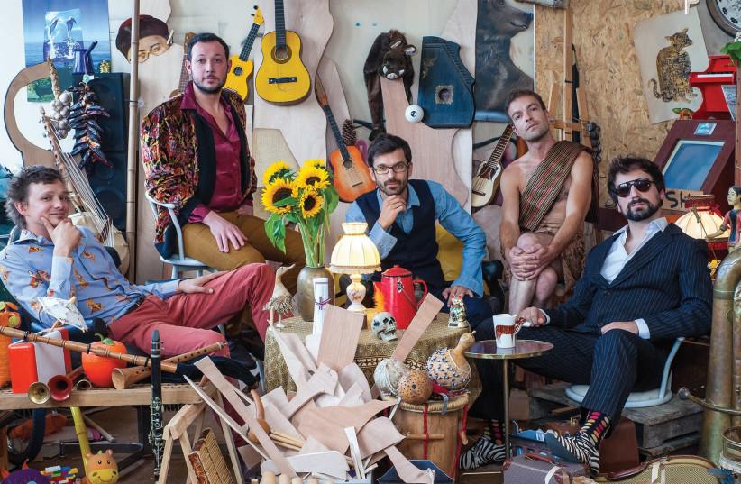 The Papanosh quintet (photo credit: JACKY CELLIE)