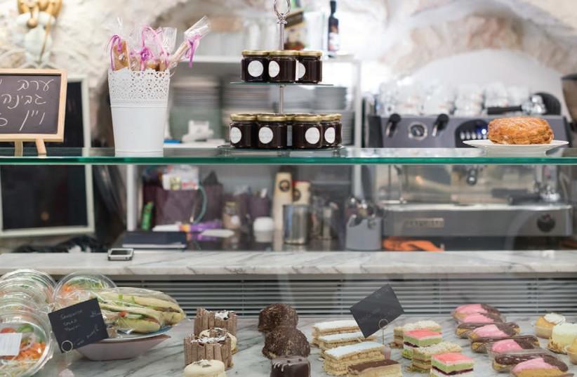 French pastries (photo credit: TAMAR KEREN)