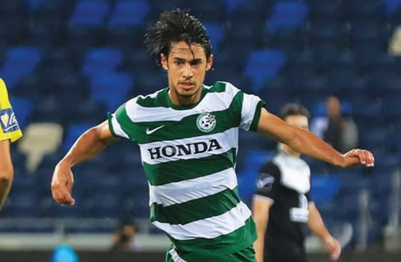 Maccabi Haifa midfielder Roei Kehat (photo credit: ERAN LUF)