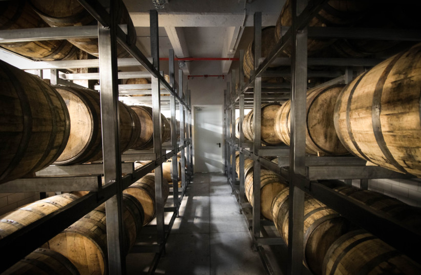 Whisky mature in cask for a minimum of three years (photo credit: Courtesy)