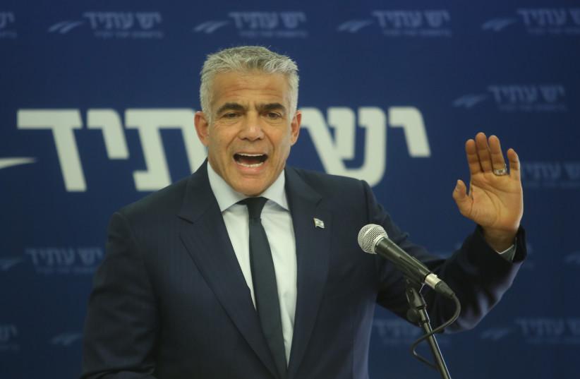 Yesh Atid chairman Yair Lapid (photo credit: MARC ISRAEL SELLEM/THE JERUSALEM POST)