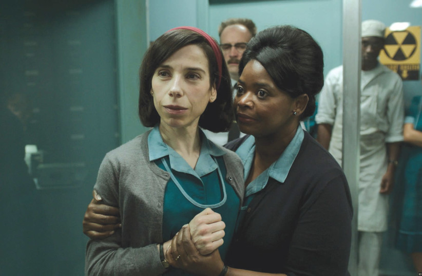 SALLY HAWKINS (left) and Octavia Spencer in Guillermo del Toro's 'The Shape of Water.' (photo credit: FOX SEARCHLIGHT)