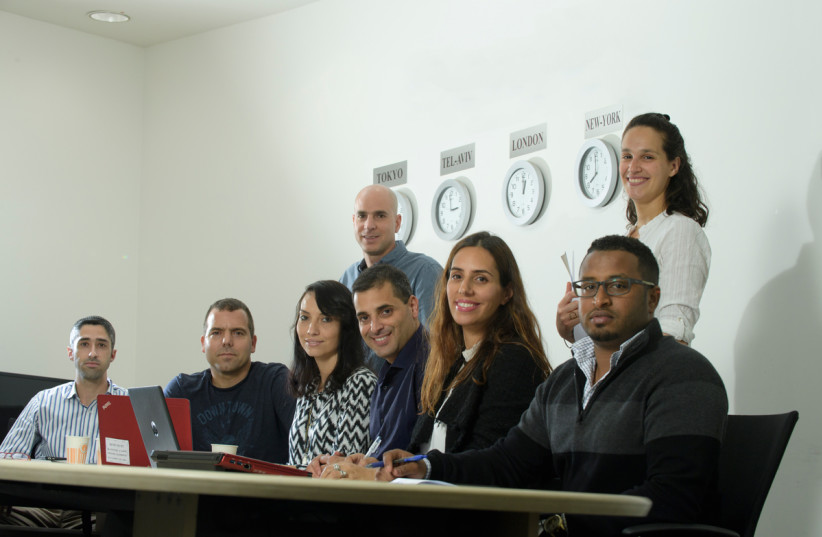 Ben Gurion University students aim to lead Israel into a future of innovation (photo credit: DANI MACHLIS/BGU)