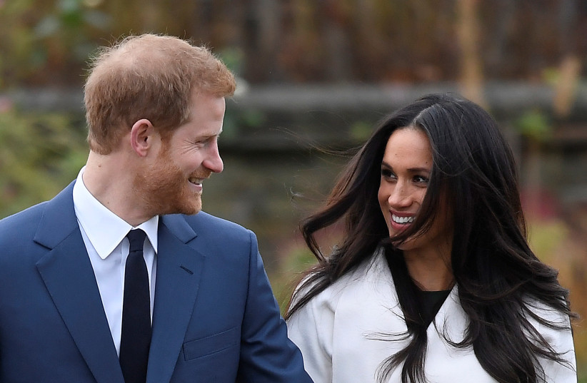 Prince Harry and Meghan Markle (photo credit: REUTERS)
