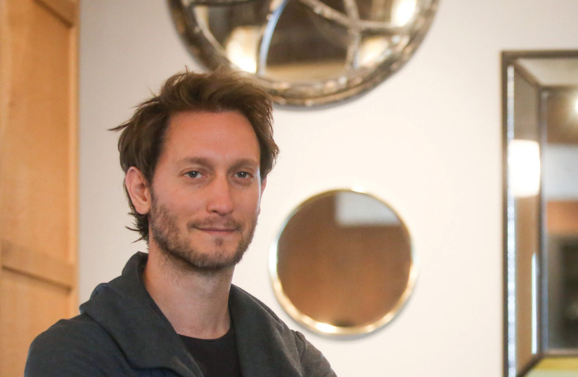 Lior Suchard: Always think positive thoughts. You never know who can read them (photo credit: MARC ISRAEL SELLEM)
