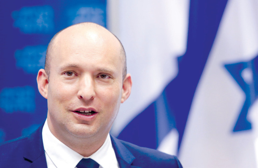 NAFTALI BENNETT:  Iran must be forced  to choose between the nuclear path and a prosperous economy (photo credit: MARC ISRAEL SELLEM/THE JERUSALEM POST)