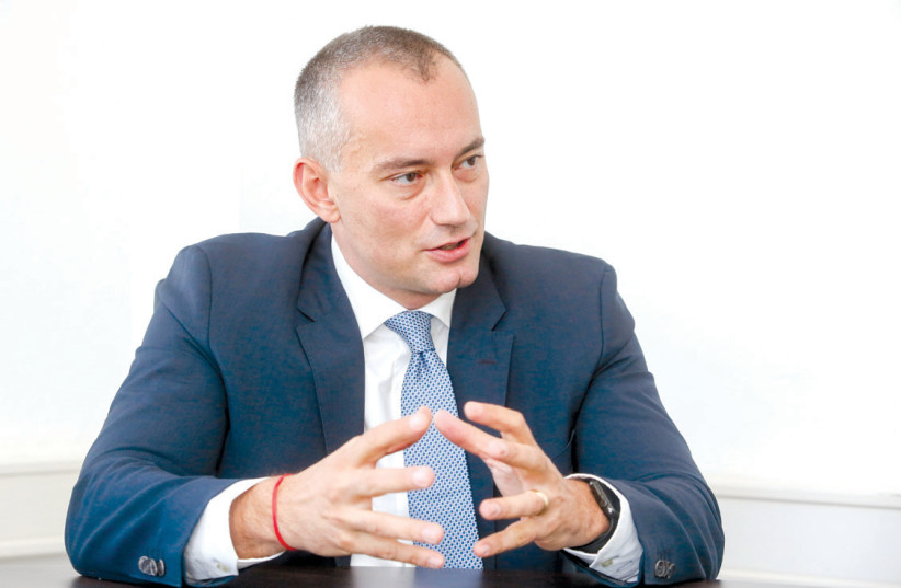 Nickolay Mladenov, United Nations Special Coordinator for the Middle East Peace Process and Personal Representative of the Secretary-General. (photo credit: MARC ISRAEL SELLEM/THE JERUSALEM POST)