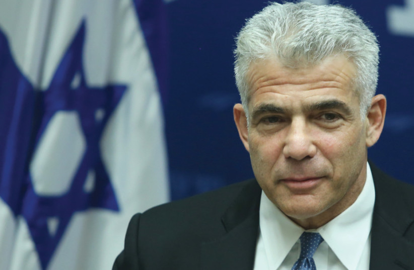YAIR LAPID: This government's moves with the Russians have failed miserably (photo credit: MARC ISRAEL SELLEM/THE JERUSALEM POST)