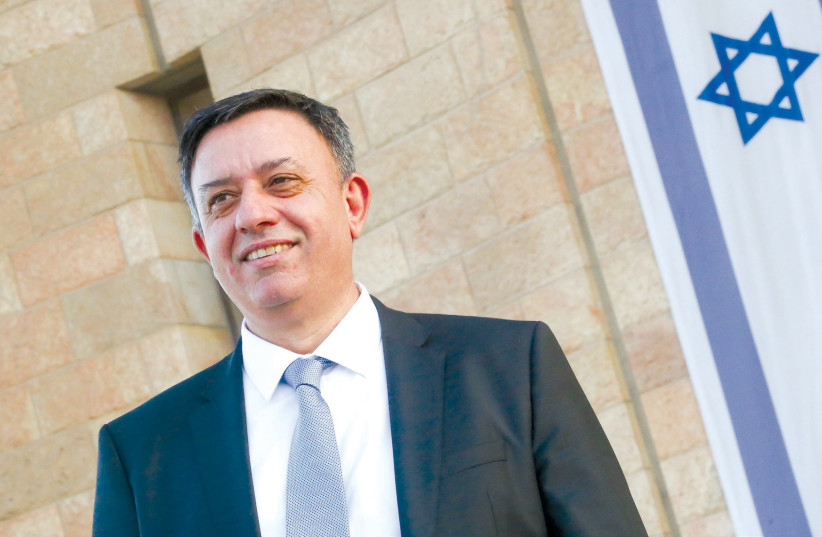 AVI GABBAY: Now there are almost no attacks, and there unfortunately is also no diplomatic process (photo credit: MARC ISRAEL SELLEM/THE JERUSALEM POST)