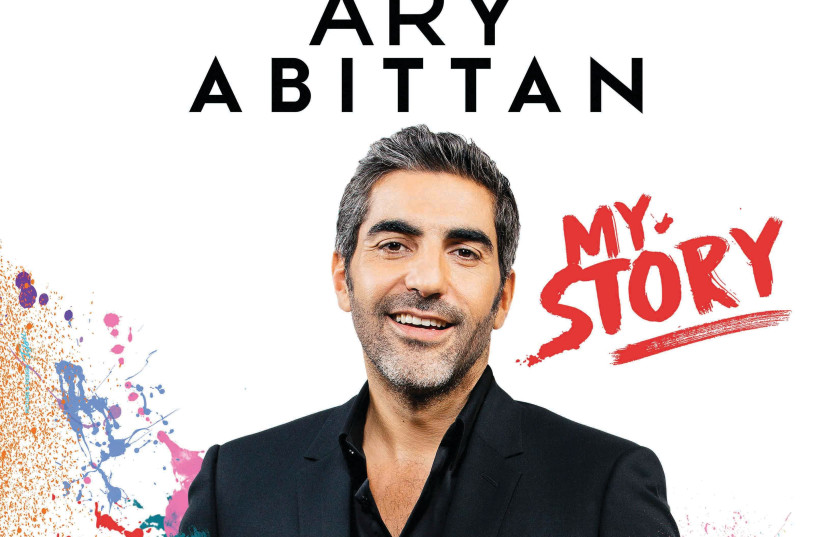 Affiche du dernier spectacle d'Ary Abittan (photo credit: FIFOU)