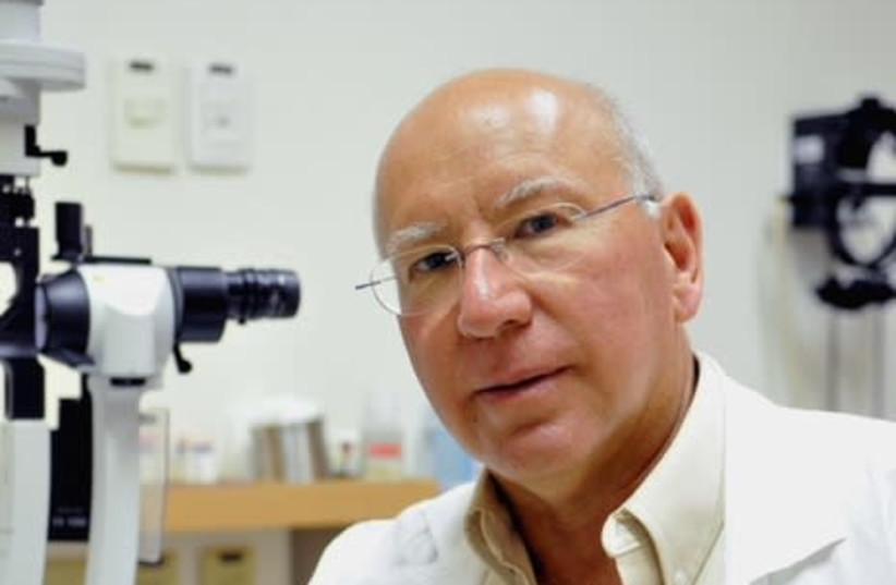Prof. Yaakov Pe'er (photo credit: AVI HAYOUN)