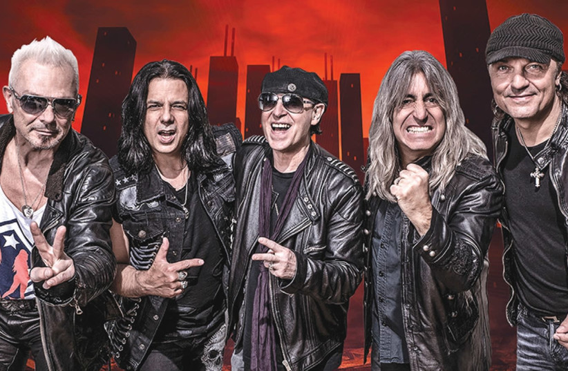 ICONIC GERMAN band The Scorpions. (photo credit: Courtesy)