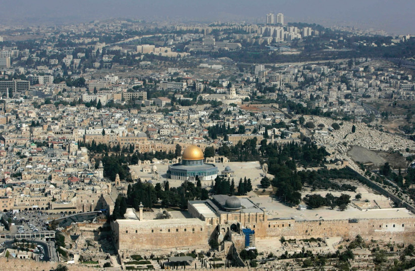The holy city of Jerusalem. (photo credit: REUTERS)