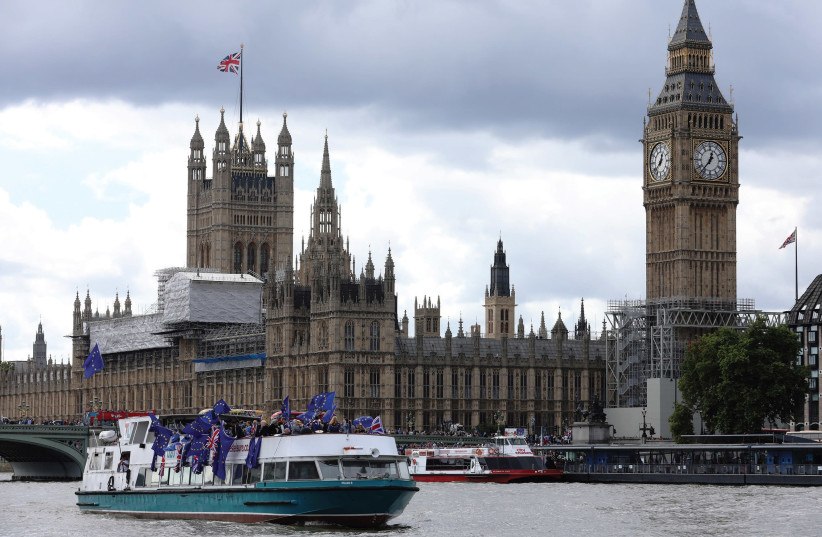 The Parliament of the United Kingdom (photo credit: REUTERS)