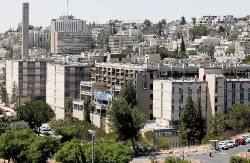 JERUSALEM'S Shaare Zedek Medical Center (photo credit: MARC ISRAEL SELLEM/THE JERUSALEM POST)