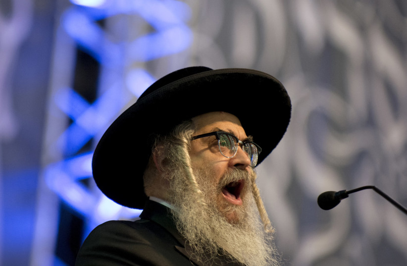 Rabbi Aaron Teitelbaum, Satmar rebbe in Kiryas Joel (photo credit: REUTERS/DARREN ORNITZ)