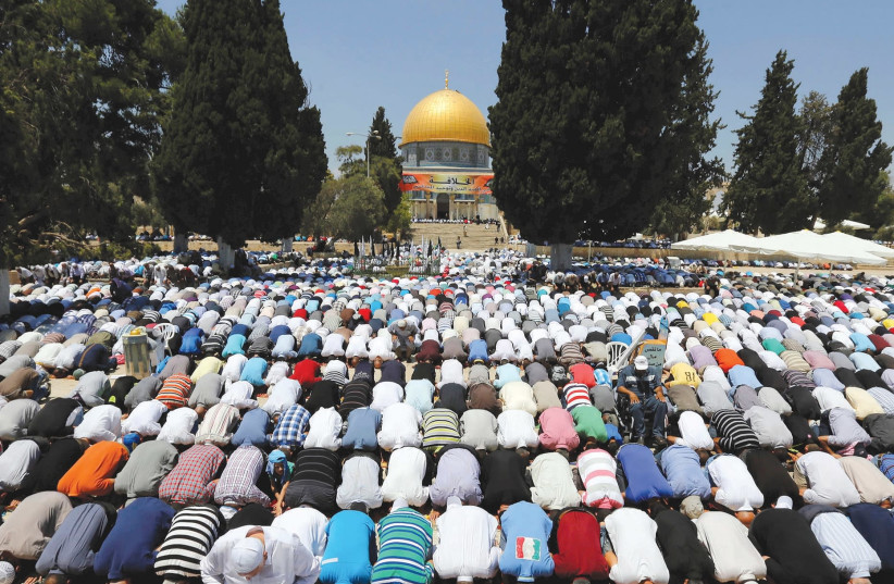 Al-Aqsa preacher: Jerusalem will soon be capital of global caliphate - The Jerusalem Post