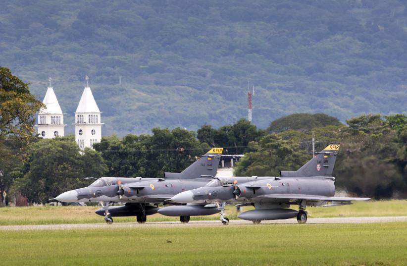 Kfir fighter aircrafts  (photo credit: IAI)