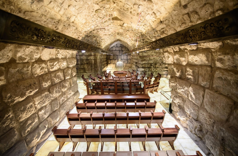 Western Wall synagogue that opened on December 19. (photo credit: WESTERN WALL HERITAGE FOUNDATION)