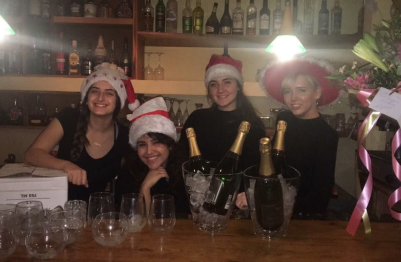 A local Northern Israeli resturant celebrates Christmas.  (photo credit: Courtesy)