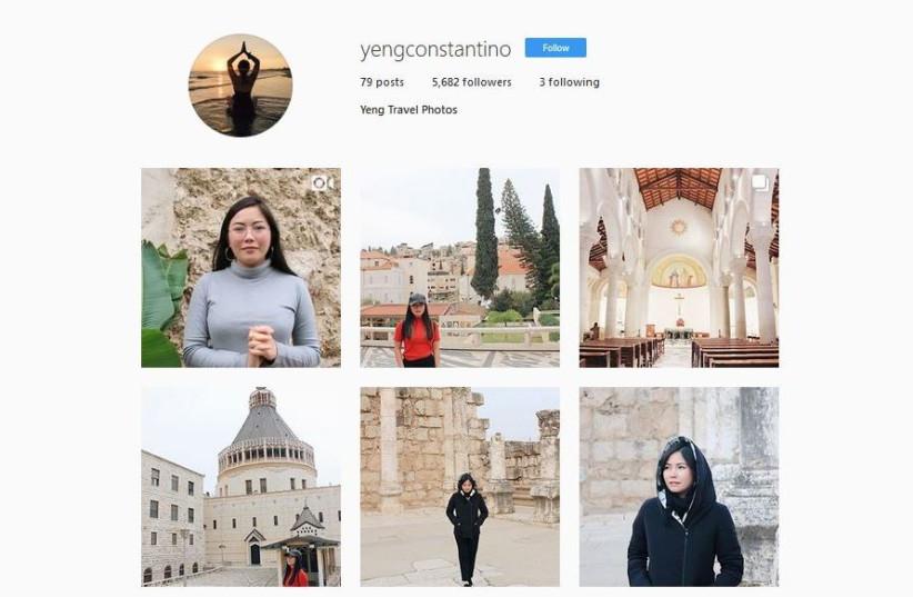 Yeng Constantino's Instagram account (photo credit: INSTAGRAM SCREENSHOT)