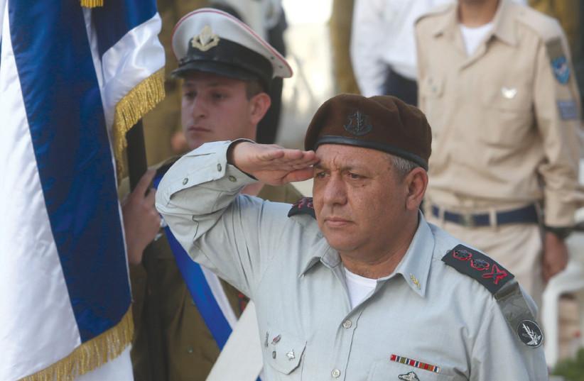 Lt.-Gen. Gadi Eizenkot (photo credit: REUTERS)