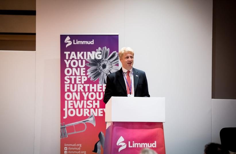 UK Universities Minister Jo Johnson (photo credit: LEIVI SALTMAN)