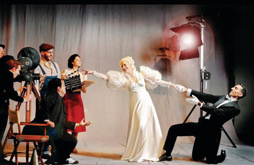 'A Midsummer Night's Dream' at the Israeli Opera (photo credit: LIRAN LEVY)