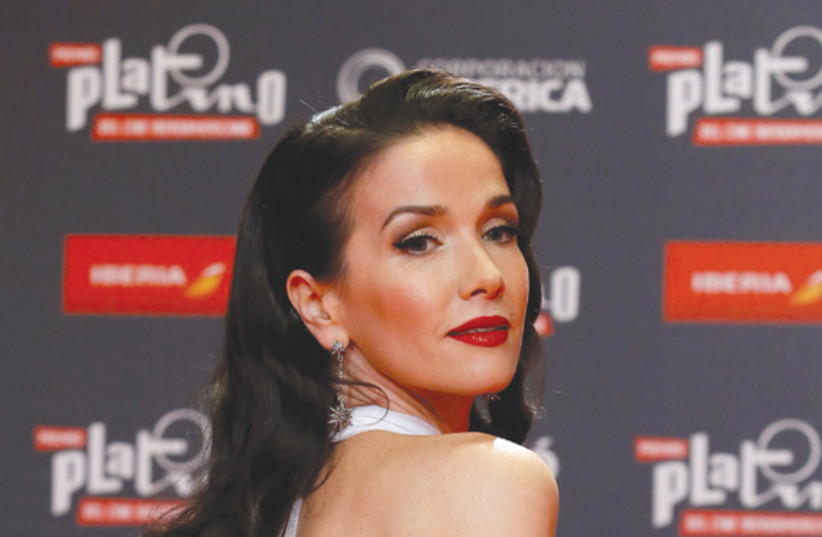 LATIN GRAMMY-nominated singer and actress Natalia Oreiro. (photo credit: ANDRES STAPFF/REUTERS)