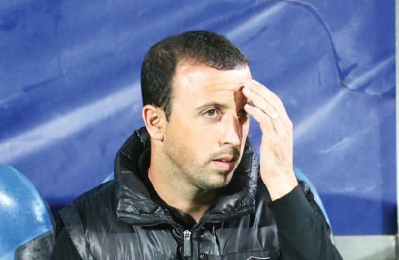 Despite some impressive results, Beitar Jerusalem coach Benny Ben-Zaken is still under pressure entering Saturday's encounter with Maccabi Petah Tikva at Teddy Stadium (photo credit: DANNY MARON)