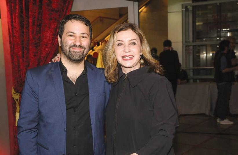 'CAKEMAKER' DIRECTOR Ofir Raul Graizer (left) with actress Sandra Sade.  (photo credit: RAFI DALOYA)