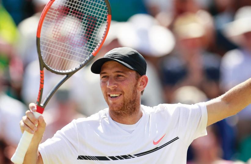 Israel's Number 1 tennis player, Dudi Sela. (photo credit: REUTERS)