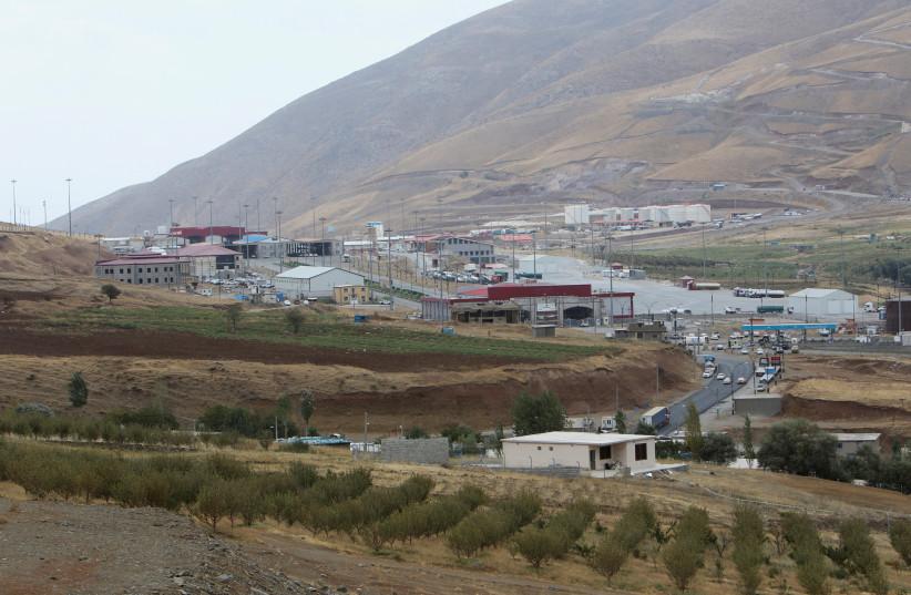 Haj Omran border is seen, on the border between Iran and Kurdistan, Iraq (photo credit: AZAD LASHKARI / REUTERS)