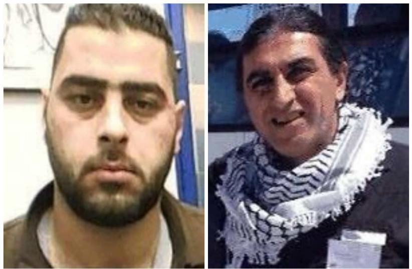 Mohammed Maharma (left) and Bachar Maharma (photo credit: Courtesy Shin Bet)