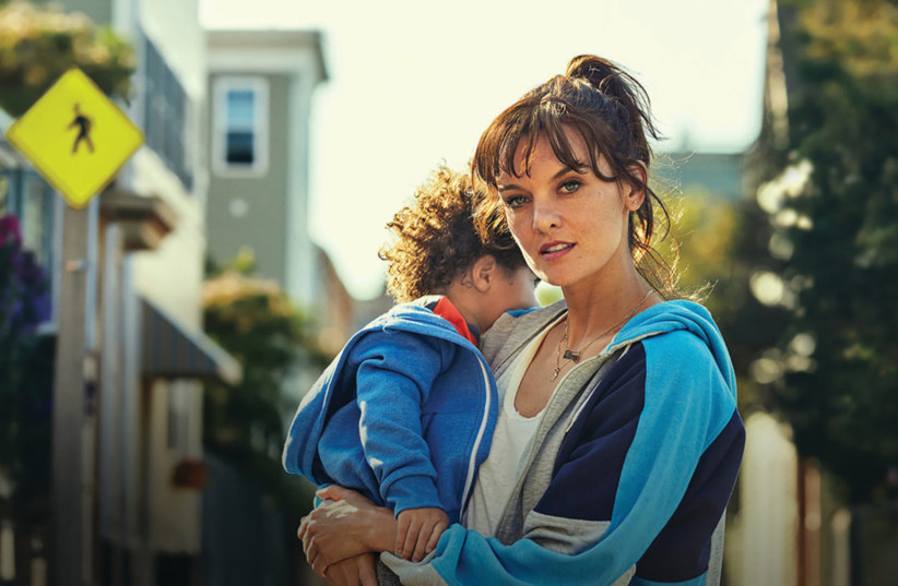 In the new TV series SMILF, Bridgette Bird (Frankie Shaw) is a smart, scrappy young single mother trying to navigate life in South Boston with an extremely unconventional family (photo credit: COURTESY HOT)