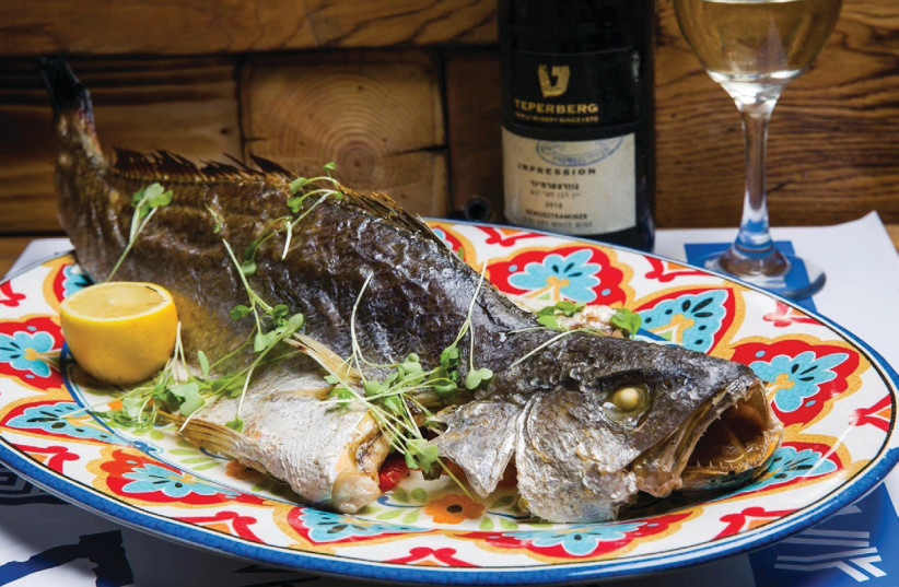 Dish at Yorgos restaurant in Kikar Ha'atsmaut in Netanya (photo credit: Courtesy)