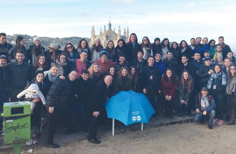 Olami delegates tour Jewish sites in Spain (photo credit: DANIELLE MANSON)