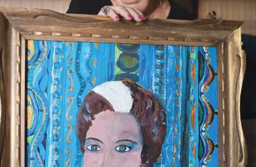 BATYA UZIEL: 'Her home looked like the juxtaposition of a museum and an active artist's workshop.' (Asaf Kliger/Maariv) (photo credit: ASAF KLIGER)