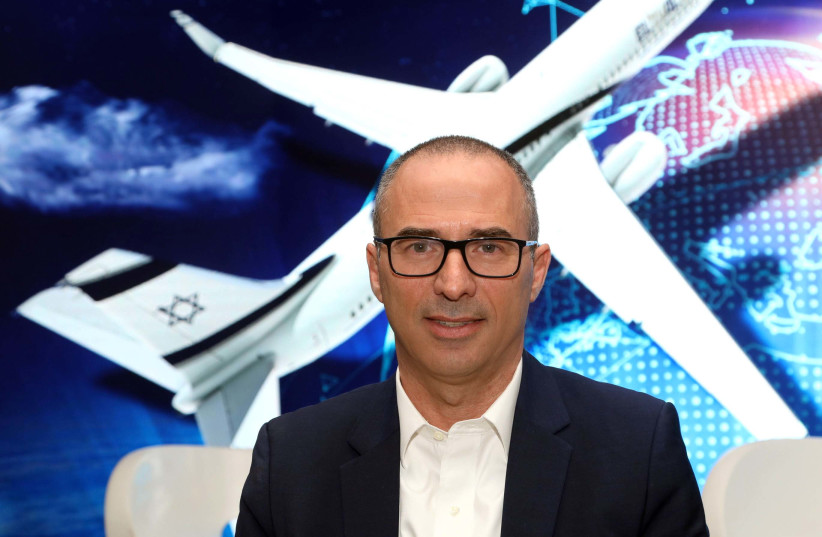 Gonen Usishkin, El Al's new CEO, once flew as a pilot and is now trying to direct the company away from its financial problems (photo credit: Courtesy)