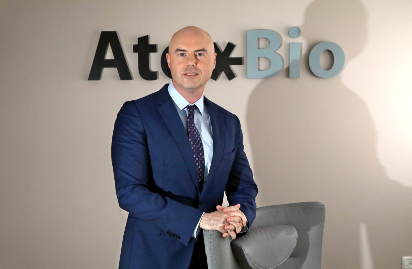 Dan Teleman, the CEO of Israeli pharmaceutical start-up Atox Bio, is helping to prepare one of the first drug treatments for flesh-eating bacteria. (photo credit: Courtesy)