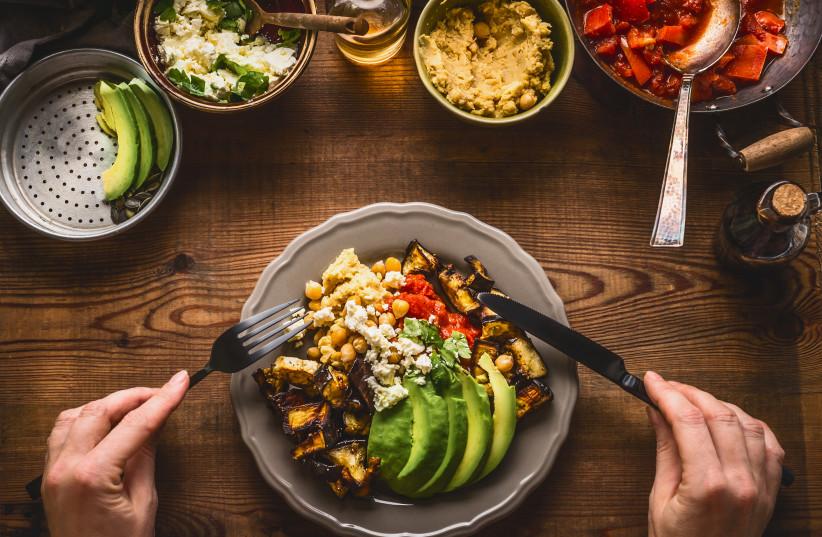 A healthy Mediterranean meal (photo credit: INGIMAGE)